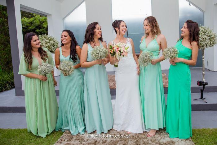 Meu dilema com a cor dos vestidos das madrinhas 4