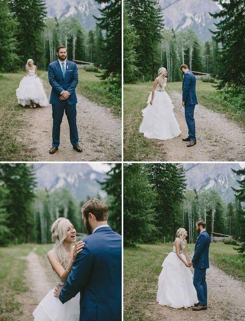 Ver o vestido de noiva antes do casamento - A favor ou contra? 1
