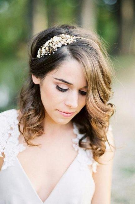 5 Penteados Semi Presos Para Noivas De Cabelo Curto Vote