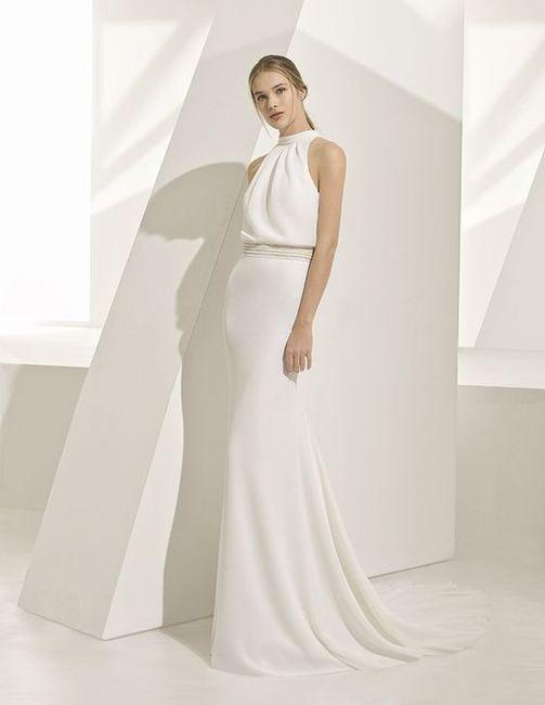 bed766fb75 7 vestidos de noiva com decote fechado 👰