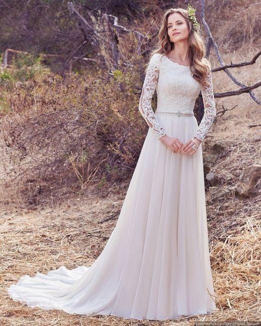 20862962c6 7 vestidos de noiva com decote fechado 👰 3