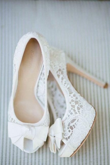 RESULTADO: quais sapatos de noiva você deveria usar? 1