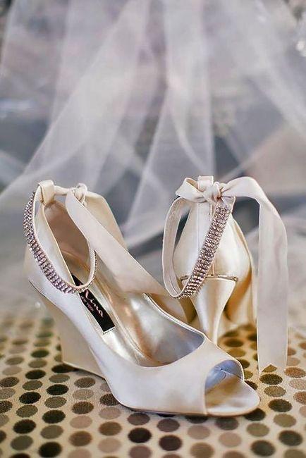 RESULTADO: quais sapatos de noiva você deveria usar? 2