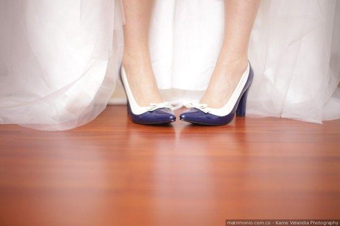 Algo azul para o seu look de noiva: Sim ou não? 1