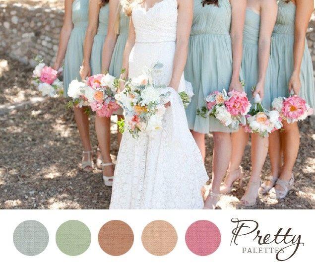 Coisas para fazer mais de 1 ano antes do casamento: escolha as cores