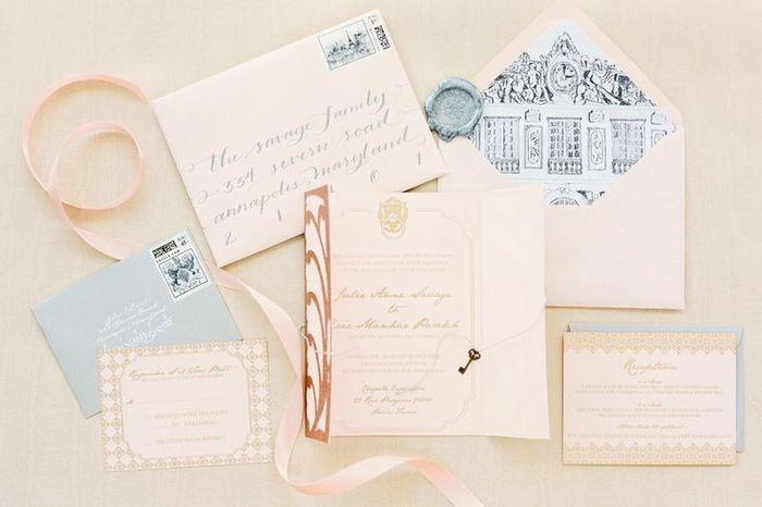Coisas para fazer 6 meses antes do casamento: escolha o convite