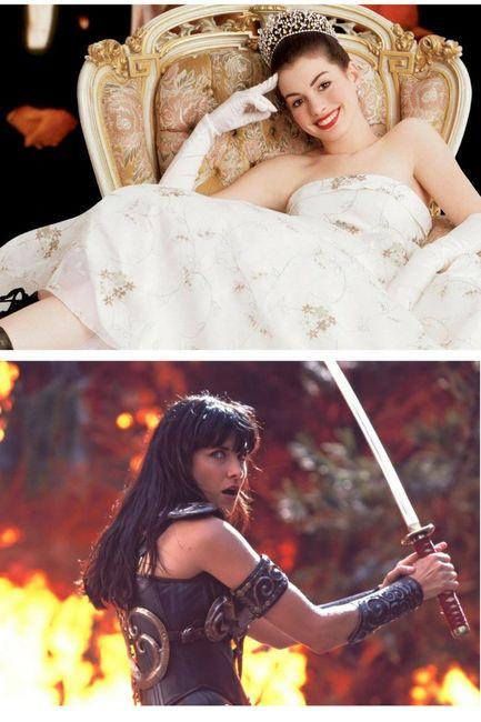 Noiva princesa ou guerreira?