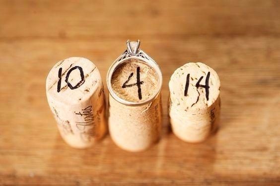 Qual é a data do seu casamento?