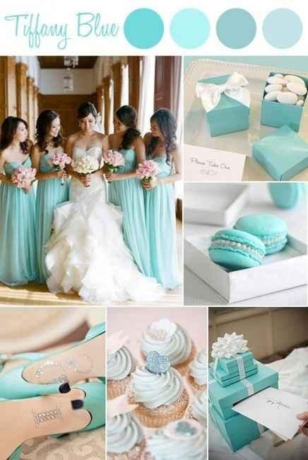 Inspiração Azul Tiffany