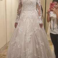 Vestido escolhido ✨👰 - 1