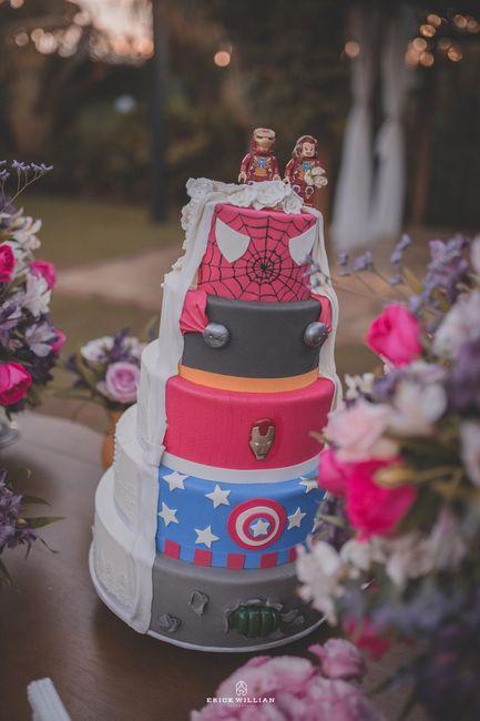 Casamentos reais 2018: o bolo 3