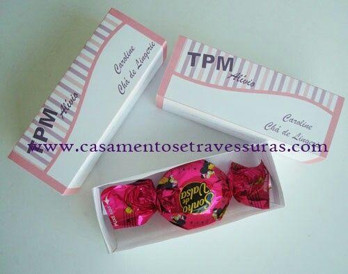 Idéias de lembrancinha para chá de lingerie! #vemver - 2