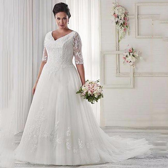 c49d384aa7d8 7 dicas para escolher o vestido de noiva plus size