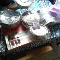 Fogão, panelas, faqueiro e vasilhas