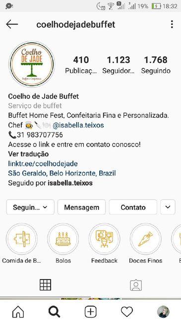 Indicação de Buffet por pessoa no valor de R$50,00 - 1