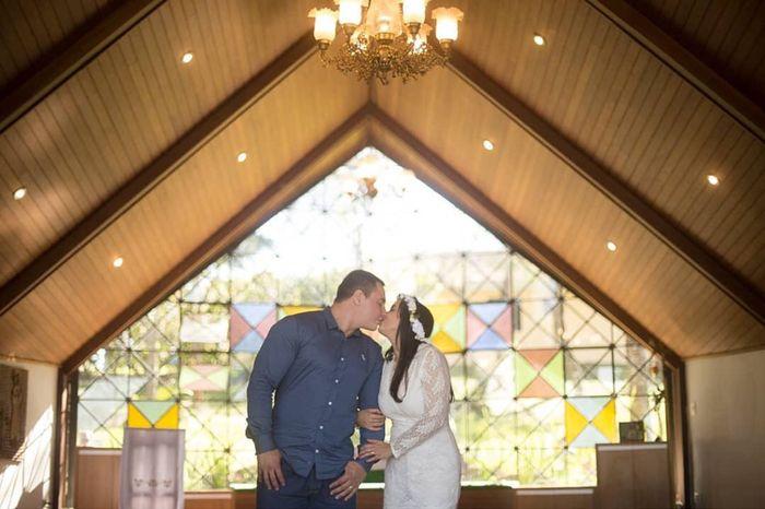 Pré-weddings na comu - Foto de beijo 3