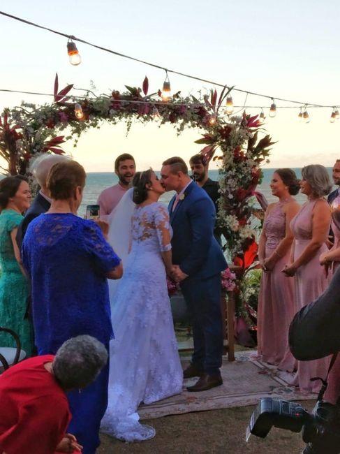Pré-weddings na comu - Foto de beijo 2