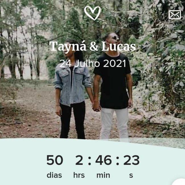 Falta quantos dias para o seu casamento ?? 1