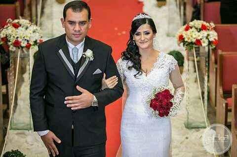 Meu vestido de noiva do aliexpress - 1
