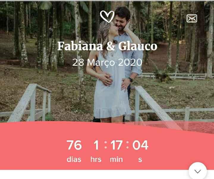 76 dias!! Tá chegando!! - 1