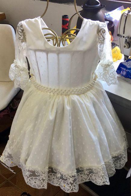 Vestido das Daminhas ♥️ 1