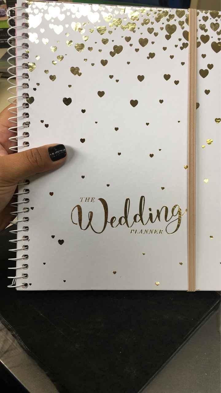 planner 2019 de casamento - 1