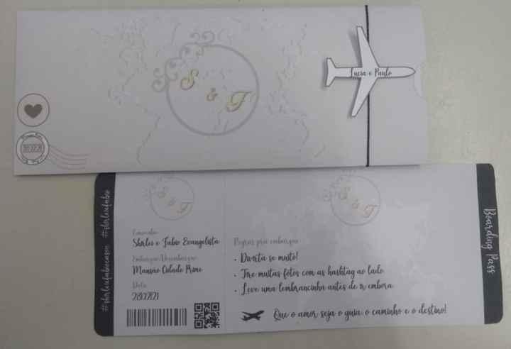 Convite de Noivado/casamento 3