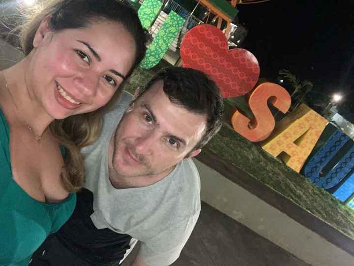 📸 Poste uma foto do seu pré-wedding ou viagem que tenha feito com o seu amor - 1