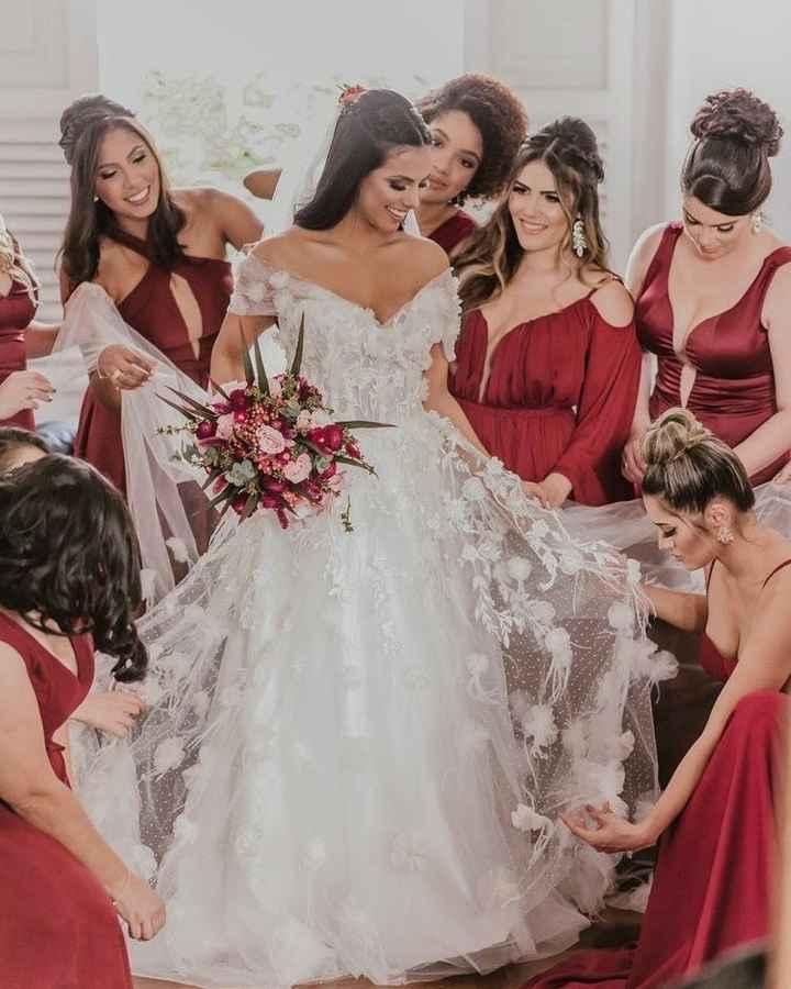 Minhas Escolhas Para o Dia De Noiva (alice Vilela) - 5