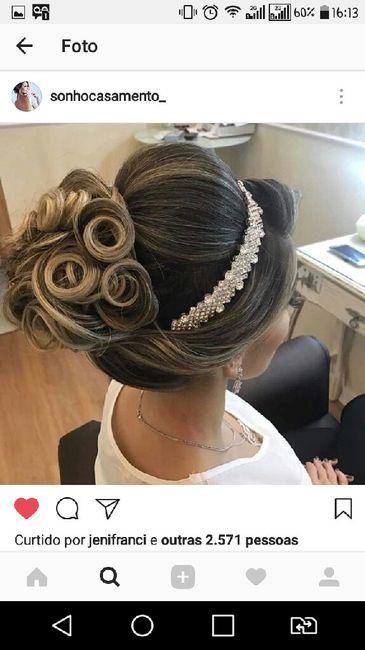 Penteado para o casamento ao ar livre - 1