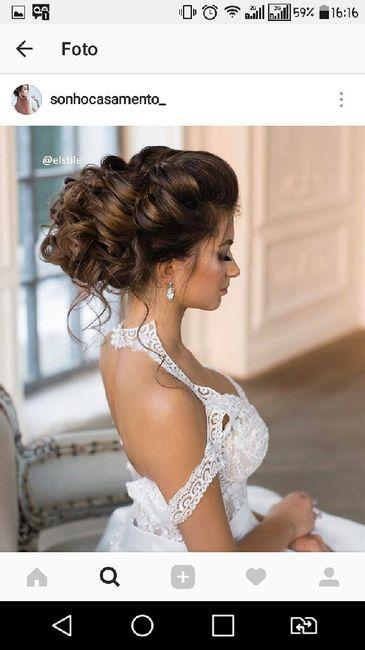 Penteado para o casamento ao ar livre - 3
