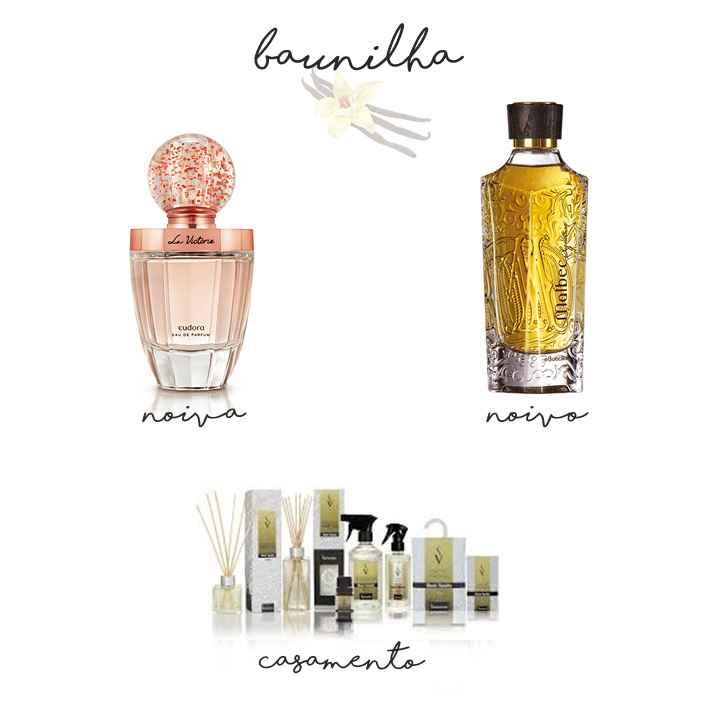 Inspirações de aromas e perfumes nacionais para usar no casamento com notas de baunilha e outras esp
