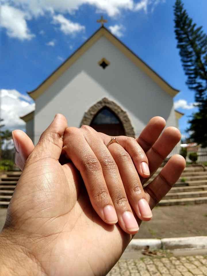 Reservamos a Igreja 👰🏾🤵🏾❤️ - 1