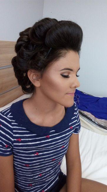 CASEI: Maquiagem mãe e irmã da noiva! 1