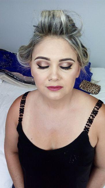 CASEI: Maquiagem mãe e irmã da noiva! 3