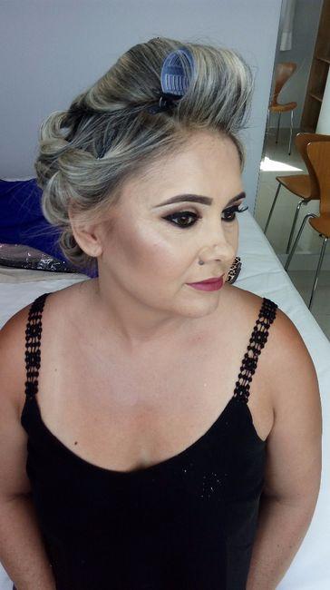 CASEI: Maquiagem mãe e irmã da noiva! 4