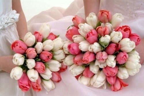 Inspiração - buquê de tulipas - 2
