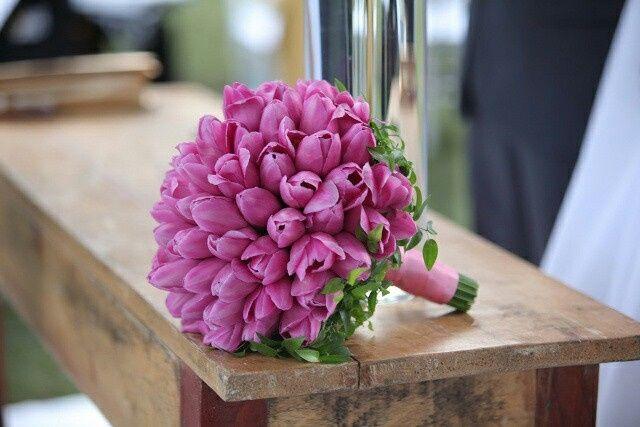 Inspiração - buquê de tulipas - 5