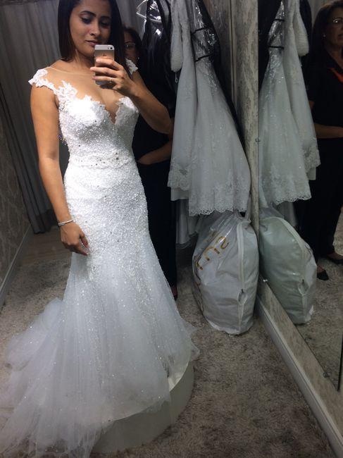 Prova do vestido 1