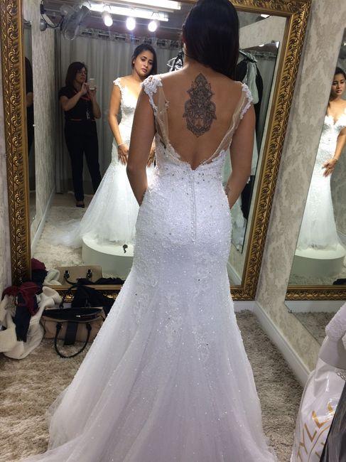 Prova do vestido 2