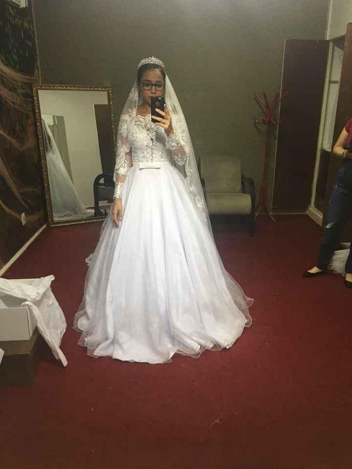 Prova de vestido!!! - 1