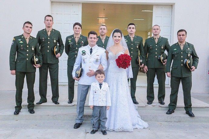 Casamento militar.