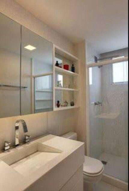 Banheiros De Aptos Decorados : Banheiros pequenos de apartamentos