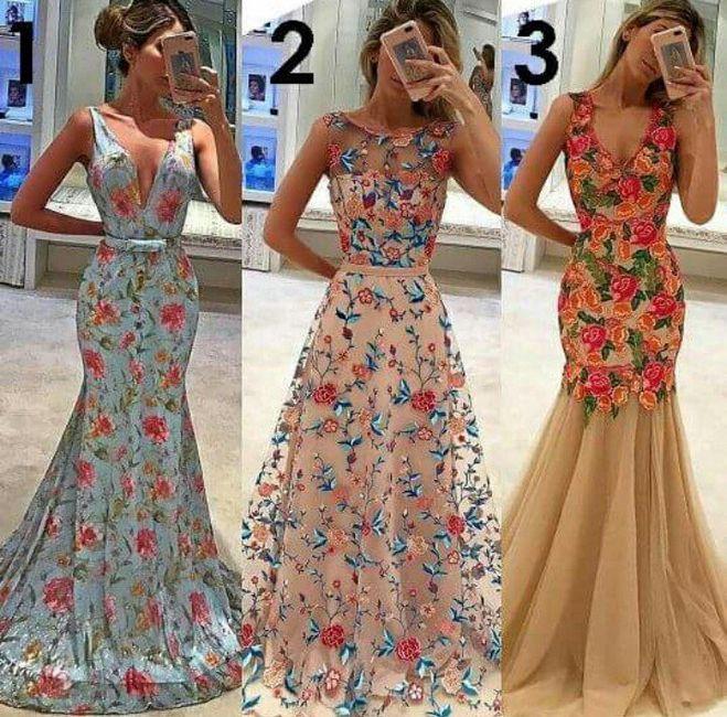 Vestido florido para madrinhas. qual é a opinião de vocês  - 1 9397dbd99f6