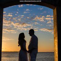 Nossa foto ao pôr do sol...