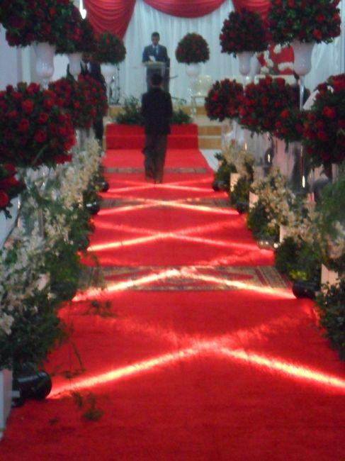 RK2 Cerimonial Decoração de casamentos com flores artificiais