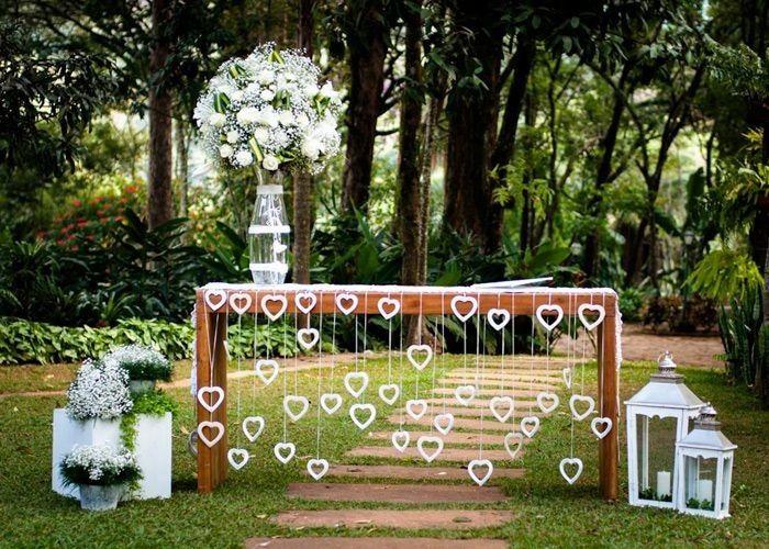Casamentos Ao Ar Livre E Simples