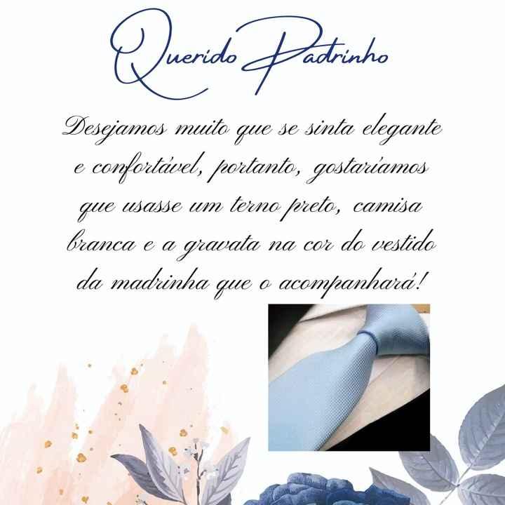 Manual dos padrinhos - azul serenity - canvas - 4