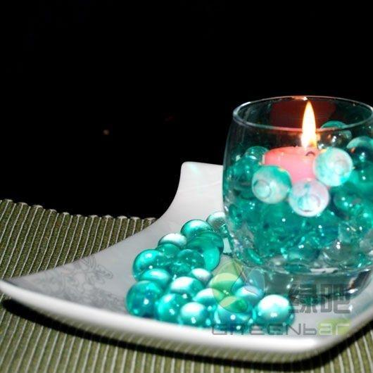 Decora o com velas - Velas de agua ...