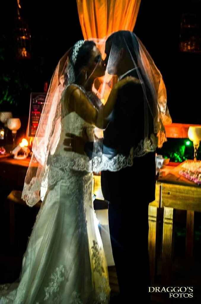 Fotos com véu da noiva - 1